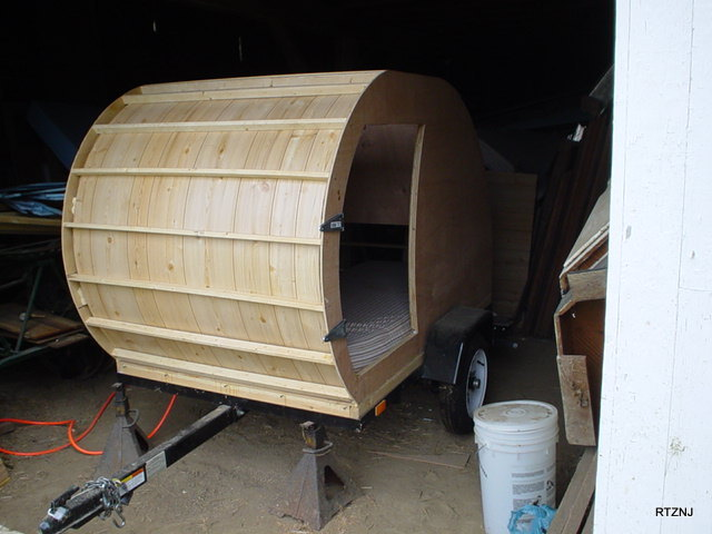 Perfect You May Remember That The Last Time Tiny House Listings Did A Piece On It, It Was Basically A 4 Wide, 4 Tall, By 8 Long, Rectangular Wooden Shell, Mounted On A 4 X 8 Harbor Freight Super Duty Trailer This Is The Camper, As It